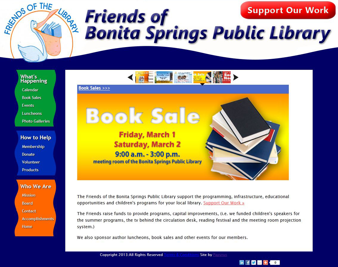 Friends of Bonita Springs Public Library