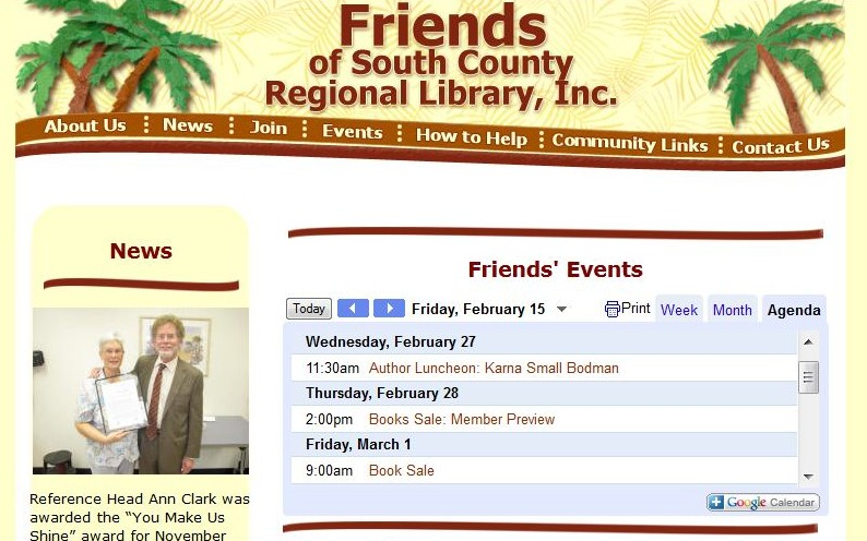 Friends of South County Regional Library