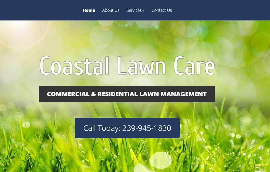 lawn care website Cape Coral