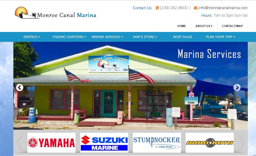 Monroe Canal Marina screenshot