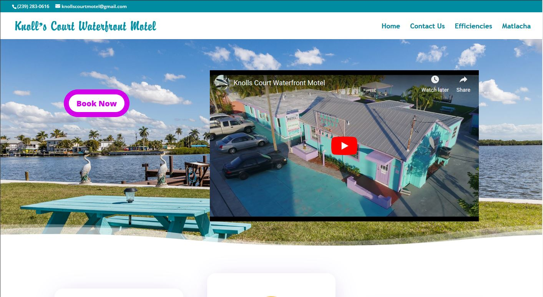 Knolls Court Waterfront Motel