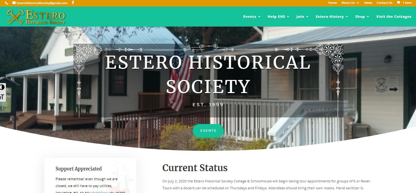 EsteroHistorical Society website